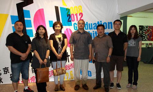 吉林动画学院到耿丹学院艺术设计系进行参观交流